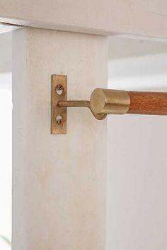 Mid Century Wooden Rod Mid Century