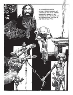 Sergio Toppi Artist Art Tales from the Arabian Nights