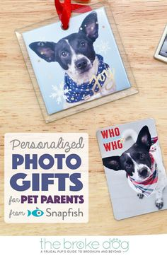 Personalized Photo Gifts For Pet Parents From Snapfish The Broke Dog Mom
