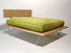 Modern pet bed. Because you care more about your dog's comfort than you do your own.