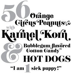 Eloquent by Jason Walcott, as seen on House Beautiful Magazine (Man, wish I had more money for fonts! Herb Lubalin, Fancy Fonts, Cool Fonts, Carnival Font, Sick Puppies, Roman Fonts, Invitation Fonts, Text Types, Types Of Lettering