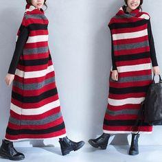Woolen Knitted Dress