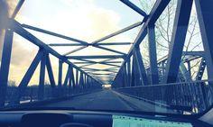 Bridge over the river Tisza