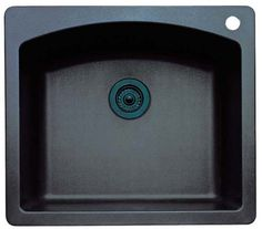 Blanco 440212 Diamond 25-Inch-by-22-Inch Single Bowl Kitchen Sink, Anthracite Finish