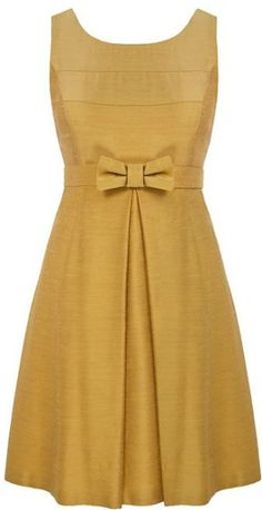 yellow retro dresses | Minuet Petite Yellow Vintage Prom Dress in Yellow