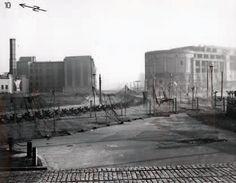 Beginn des Mauerbaus im Jahr 1961 Berlin Potsdamer Platz