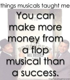 Things Musicals Taught Me- The Producers @Erica Cerulo Richard