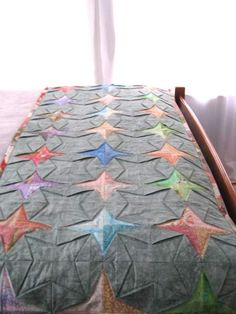 Bed Runner Quilt Patterns Free | ... how to make the Tanabata quilt block with  downloadable pattern