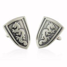 Amazon.com: Dragon Shield Cufflinks by Cuff-Daddy: Cuff Links: Jewelry