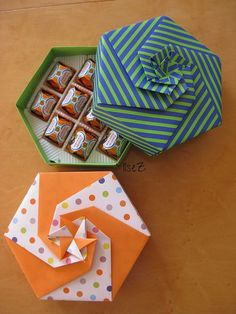 Origami Boxes: