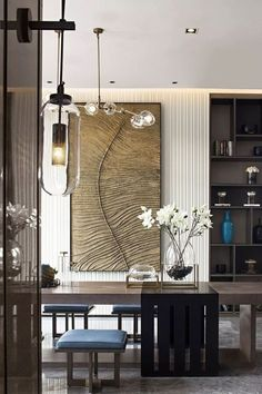If you need some inspiration for your new project, this photo is incredible. One fantastic ambiance created by one of the best interior designers. Take a look at the board and let you inspiring! See more clicking on the image.