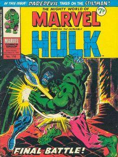 Mighty World of Marvel #116, Hulk v Dr Doom.
