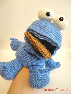Hand puppet crotchet