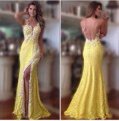 Yellow + renda!
