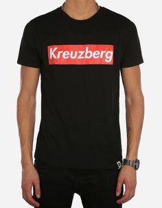 Depot2 Berlin - Kreuzberg Super Tee black red