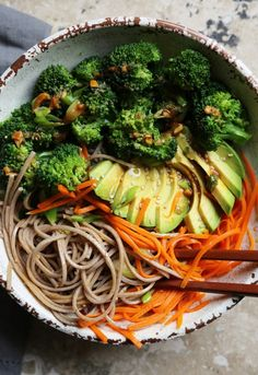 4. Soba Noodle Bowl #greatist https://greatist.com/eat/buddha-bowl-recipes