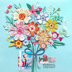 I created a new layout for the Stamp & Scrapbook Expo blog ! SMILE IN WROCLAW by Paige Evans    DESCRIPTION: One of my favorite papers in ...