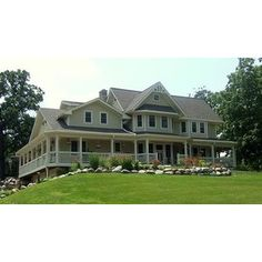 Craftsman Farm House, wrap around porch. Hello dream.