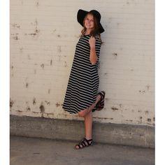 Striped Ally Dress