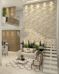 Get to know the best interior design and be inspired! Best Interior Design, Interior Design Living Room, Living Room Designs, Luxury Interior, Modern Stairs, House Stairs, Staircase Design, Stair Design, Ceiling Design