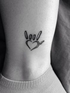 i love in sign language tattoo - Google Search