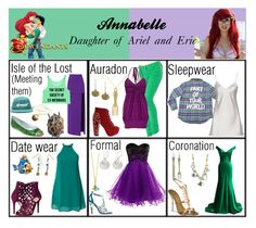 Daughter of Ariel and Eric Princess Inspired Outfits, Disney Princess Outfits, Disney Themed Outfits, Disney Inspired Fashion, Disney Bound Outfits, Disney Character Outfits, Character Inspired Outfits, Fandom Fashion, Nerd Fashion
