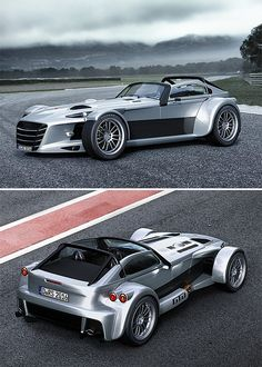 Donkervoort D8 GTO-RS -- Custom car-maker Donkervoort made its mark in the early 2000s when it set the lap record at the renowned Nürburgring. The record-breaking D8 GTO-RS is back for 2016/7 with an overhauled body design and performance package. Powered by an Audi 2.5L R5 TFSI, the new street-legal D8 becomes the fastest, lightest Donkervoort yet. Limited edition of 40 cars.  $179,000