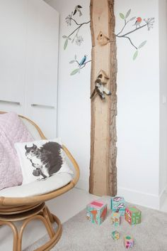 DIY tree decoration| home of studiowolk.nl | photo by Celine Nuberg