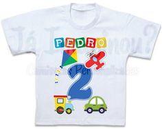 Camiseta Tema Brinquedos 1st Birthday Shirts, First Birthday Themes, Cars Birthday Parties, First Birthdays, Transportation Birthday, Bernardo, Ideas Para Fiestas, Jelsa, Sandro