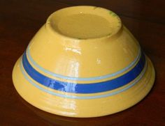 yelloware bowl