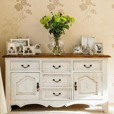 Ideas For Painting Wood Furniture White Buffet Sideboard Dekor, Kitchen Sideboard, French Sideboard, White Sideboard, Vintage Sideboard, Hallway Sideboard, Credenza, Painting Wood Furniture White, Plywood Furniture