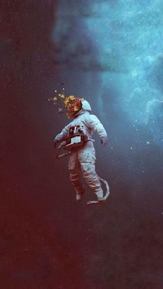 - The Best Of Wallpaper - Space Artwork, Wallpaper Space, Tumblr Wallpaper, Galaxy Wallpaper, Aesthetic Iphone Wallpaper, Wallpaper Ideas, Art And Illustration, Astronaut Wallpaper, Psychedelic Art
