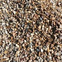 Quartz Pea Gravel 10mm- Perfect for bringing any garden to life