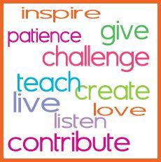 Inspiring words!