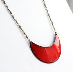 Curve Necklace Large by EnfuseJewelry on Etsy