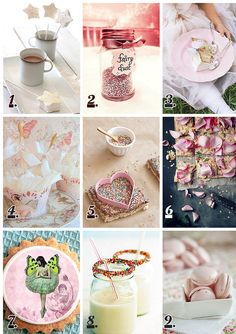 Inspiring ideas for Fairy Parties from FoodOpera