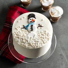 Snowman Cake #williamssonoma