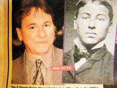 John Ritter & his Doppelganger in the 1880's!