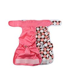 Hisprout Grab and Go Waterproof Washable Reusable Diaper Wet Bag Pink Fish