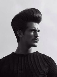 Extreme Rockabilly Pompadour Men s Hair this is
