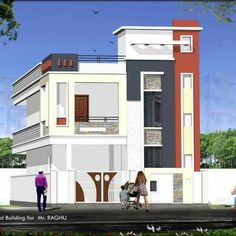 Amazing Quality Houses In Hyderabad Building Elevation, House Elevation, House  Front Design, Front Elevation