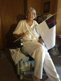 99-year-old woman wants Christian flag to go viral - MSNewsNow.com - Jackson, MS