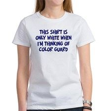 Thinking About Color Guard Tee