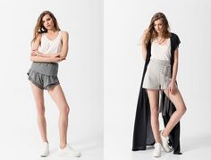 EMENAY SS16 collection | Minimal lines in lush fabrics with ethnic details are right at the core of the EMENAY SS16 collection which is inspired by the casual feel of the Greek summer islands! The EMENAY SS16 collection follows fashion trends without cutting down on its minimal character. Long dresses, tops with unexpected cuts, comfy trousers and culottes follow your move, cardigans that embrace your body and fringed jackets that dance with every step you take, all in minimal lines that… Greece Today, Greek Fashion, Every Step You Take, Fringe Jacket, Contemporary Fashion, Ss16, Long Dresses, Lush, Islands