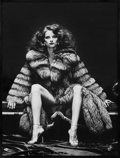 "miss-vanilla: ""Charlotte Rampling as Venus in Furs. Photo by Helmut Newton, 1973. """