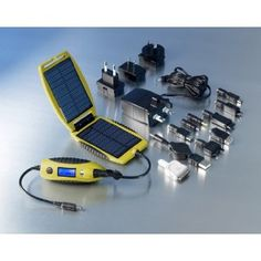 PowerTraveller PowerMonkey eXplorer Yellow Portable Solar Charger for Mobile Phones, iPods, PDAs and etc. --- http://bizz.mx/wo9