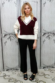 Build Presents Sienna Miller Discussing Live By Night, New York - December 13 2016