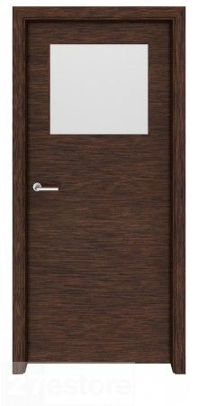 Dark Walnut Seattle Gl Interior Door