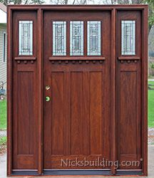 """Better Business Bureau rated Nick's as """"D"""" on 2/20/2016 so I changed my mind and did not order this door."""