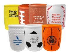 Custom printed Mini Sports Balls with your logo, graphic or message. The premier online source for custom imprinted sports-related promotional products. Sports Party Favors, Unique Party Favors, Drink Holder, Bar Mitzvah, Birthday Party Invitations, Fundraising, Party Themes, Custom Design, Beverages